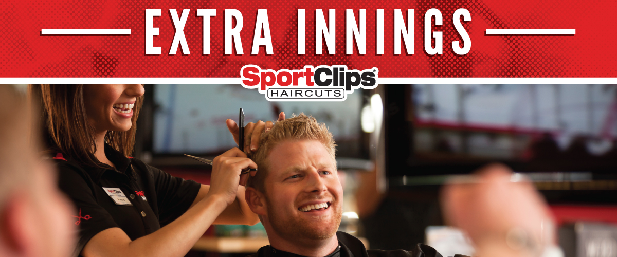 The Sport Clips Haircuts of Centre Pointe Marketplace Extra Innings Offerings